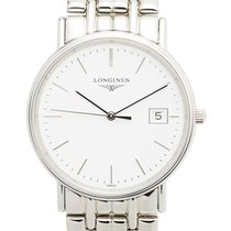 Longines Presence Stainless Steel White Quartz L4.720.4.12.6