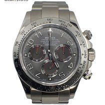 Rolex Cosmograph Daytona 116509 White Gold Grey Dial