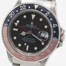 """Rolex GMT Master II Ref. 16760 """"Tritium"""" v. 1988 B+P LC700"""