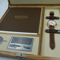 Bremont Rosa guld 22mm Automatisk Wright Flyer/RG - Limited edition - 029/100 ny