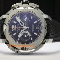 Clerc Hydroscaph L.E. Central Chronograph Steel 43.8mm Black No numerals United States of America, Florida, Boca Raton