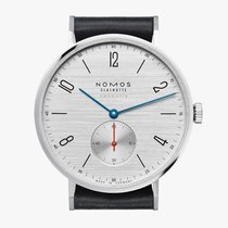 NOMOS Tangente Neomatik Steel 38.5mm Silver Arabic numerals