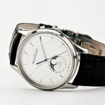 Jaeger-LeCoultre Master Ultra Thin Moon Steel 39mm Silver No numerals United States of America, Virginia, Williamsburg