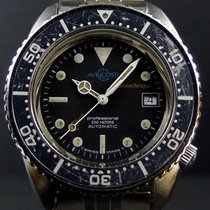 Auricoste 40mm Automatic 1980 pre-owned Black