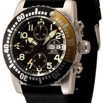 Zeno-Watch Basel Airplane Diver Steel