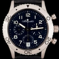 Breguet Type XX - XXI - XXII Platinum 39mm Blue Arabic numerals United Kingdom, London