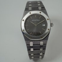 Audemars Piguet Tantalum Quartz Grey No numerals 33mm pre-owned Royal Oak