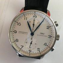 IWC Portuguese Chronograph Acero Plata Árabes España, Madrid
