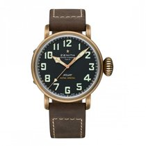 Zenith Automatic Black Arabic numerals 45mm new Pilot Type 20 Extra Special