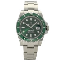 Rolex Submariner Date Steel 40mm Green No numerals United Kingdom, Liverpool