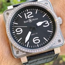Bell & Ross BR 01-92 pre-owned 46mm Black Rubber