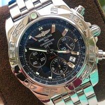 Breitling Chronomat 44 pre-owned 44mm Black Chronograph Date Steel