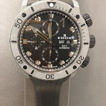 Edox Carbon Automatic Grey No numerals 45mm new