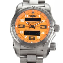 Breitling Emergency Titanium 51mm Orange Arabic numerals United States of America, New York, New York