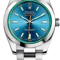 Rolex Milgauss 116400GV neu
