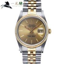 Rolex Datejust Steel 36mm Champagne