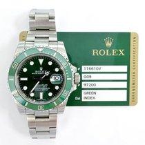 Rolex Submariner Date 116610LV Sehr gut Stahl 40mm Automatik
