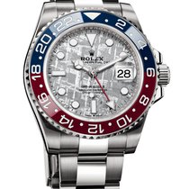 Rolex GMT-Master II 126719BLRO New White gold 40mm Automatic