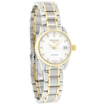 Longines Master Ladies Diamond Auto Watch L2.128.5.77.7