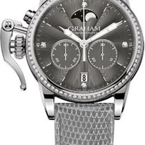 Graham Chronofighter 1695 Diamond Lady Moon Phase