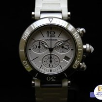 Cartier Pasha Seatimer Chronograph Date W3140005  MSRP $...