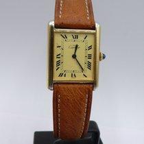 Cartier Must de Cartier Silver Gold Plated