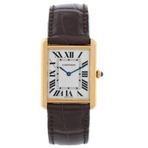 Cartier Tank Solo 18K Yellow Gold Men's Watch W1018855