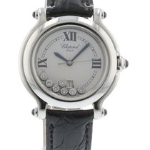 Chopard Happy Sport 27/8238-23 Watch with Leather Bracelet and...