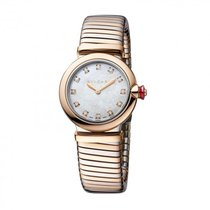 Bulgari Lucea Gold/Steel 28mm Mother of pearl