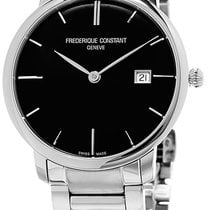 Frederique Constant Slimline Automatic Staal Zwart