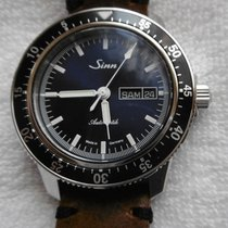 Sinn 104 Steel 41mm Blue No numerals