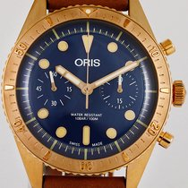 Oris Carl Brashear new 2018 Automatic Chronograph Watch with original box and original papers 77177443185