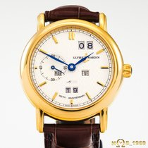 Ulysse Nardin pre-owned Automatic 38 mmmm White Sapphire Glass