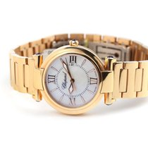 Chopard Red gold 28mm Quartz 384238-5002 new