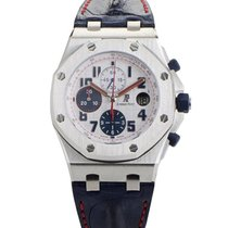Audemars Piguet Royal Oak Offshore Chronograph nowość Automatyczny Chronograf Zegarek z oryginalnym pudełkiem i oryginalnymi dokumentami 26208ST.00.D305CR.01