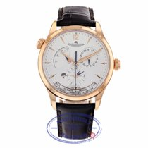 Jaeger-LeCoultre Master Geographic Rose gold 39mm Silver United States of America, California, Beverly Hills
