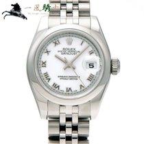 Rolex Lady-Datejust Stal 26mm Biały
