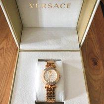 Versace Or rose 30mm Quartz VQM06 0015 nouveau