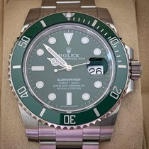 Rolex Submariner Date Acier 40mm Vert Sans chiffres France, Nice