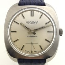 Cortébert Acier 36.19mm Remontage manuel Cortébert Vintage Serviced and Warranty occasion