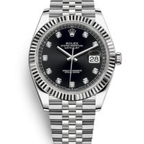 Rolex Datejust Steel 41mm Black No numerals United States of America, New Jersey, Totowa
