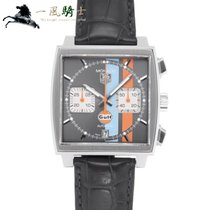 TAG Heuer Acero 38mm Gris