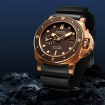 Panerai Luminor Submersible Bronze 47mm Brown No numerals United States of America, Illinois, Chicago