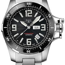 Ball Engineer Hydrocarbon Acero 42mm Negro