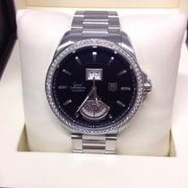 TAG Heuer Grand Carrera WAV5115 - Diamond Bezel Box &...