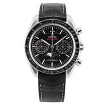Omega 304.33.44.52.01.001 Acier Speedmaster Professional Moonwatch Moonphase 44.25mm nouveau
