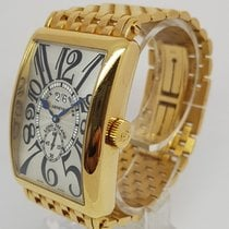 Franck Muller Long Island Solid 18K Yellow Gold Mens Watch
