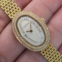 Cartier Baignoire Yellow gold 23mm Silver United States of America, California, Beverly Hills