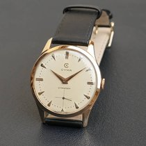 Cyma 38mm Manual winding 1960 pre-owned White