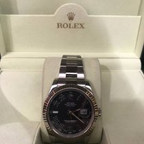 Rolex Stainless Steel Datejust II 41mm w/ Roman Numeral Dial
